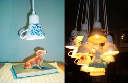Светильники как сделать самой